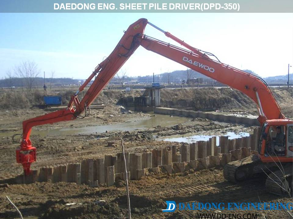 Daedong Eng For Piling Amp Rock Demolition Attachments